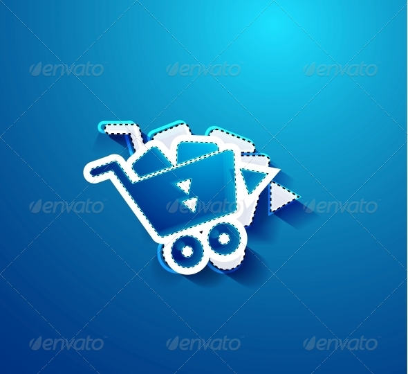 GraphicRiver Go Shopping Concept Vector 4006650