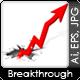 Groundbreaker arrow set - GraphicRiver Item for Sale