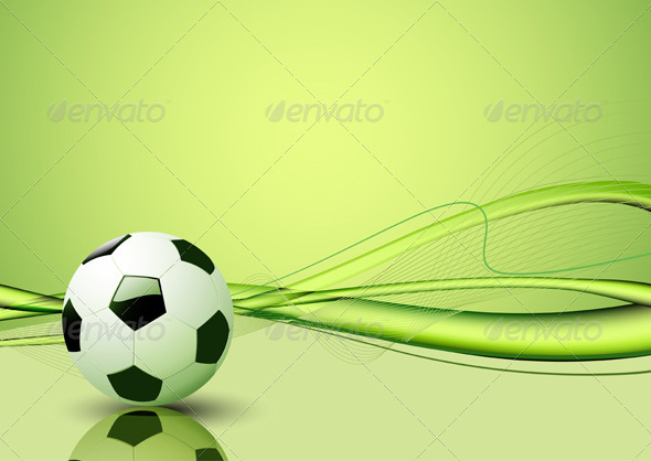 GraphicRiver Football Background 4007505