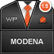 Modena Responsive Portfolio WordPress Theme - ThemeForest Item for Sale