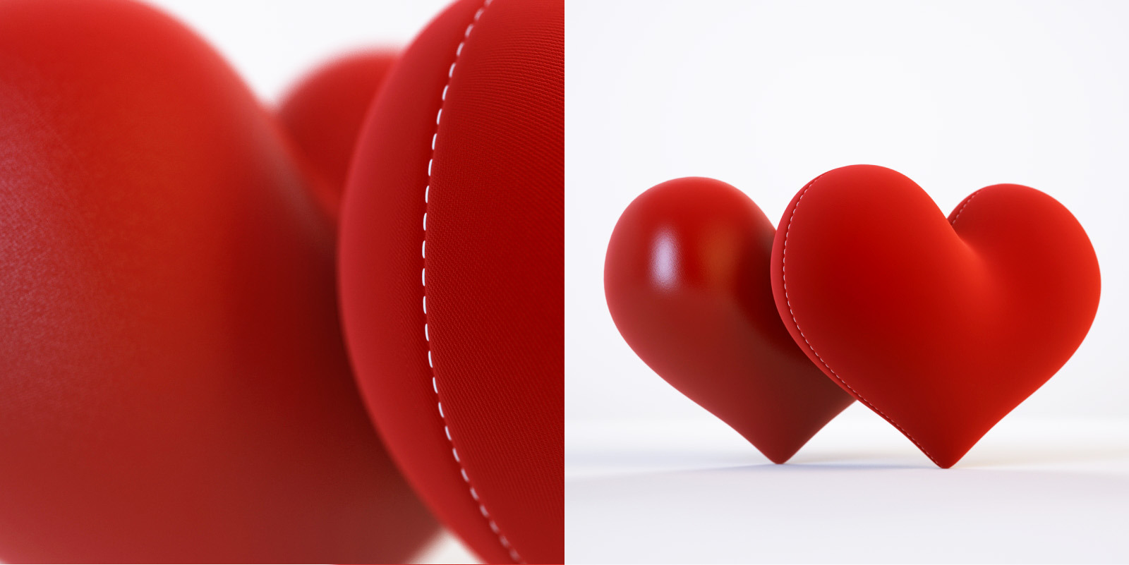 3d Model And 3d Scene With A Heart By Rnax 3docean