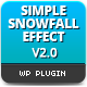 Simple Snowfall Effect - CodeCanyon Item for Sale