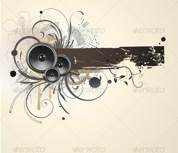 GraphicRiver Grunge Banner 4007679