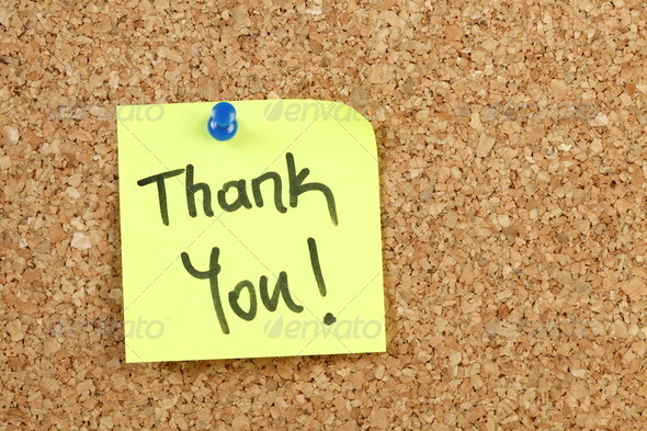Thank You - Stock Photo - Images