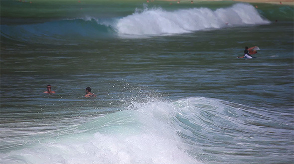 Waves On Andaman Sea