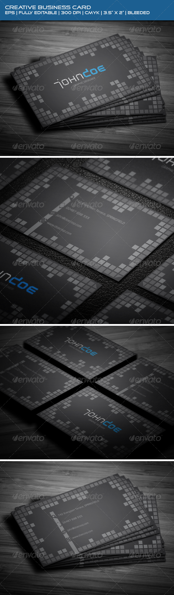 GraphicRiver Creative Business Card 3908011