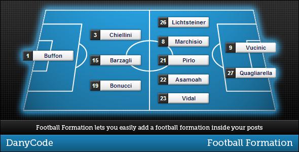 CodeCanyon Football Formation 3999915