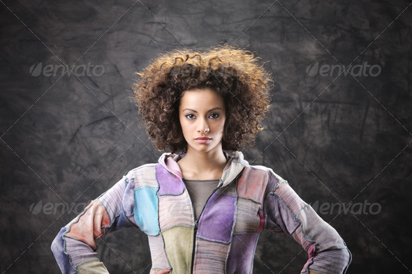 Girl portrait - Stock Photo - Images