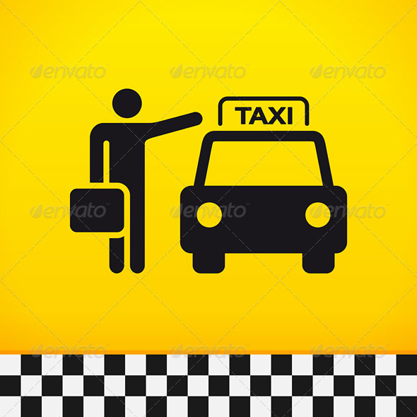 GraphicRiver Taxi Theme with Passenger 4011151