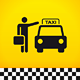 Taxi Theme with Passenger - GraphicRiver Item for Sale