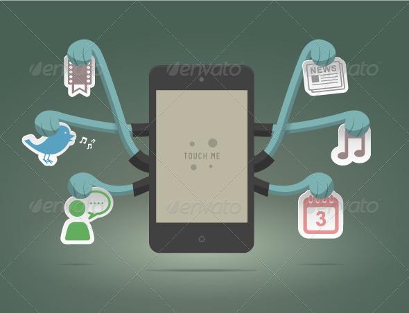 GraphicRiver Smart Phone 4011844