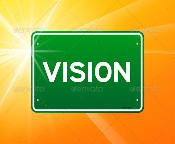 GraphicRiver Vision Green Sign 4011851