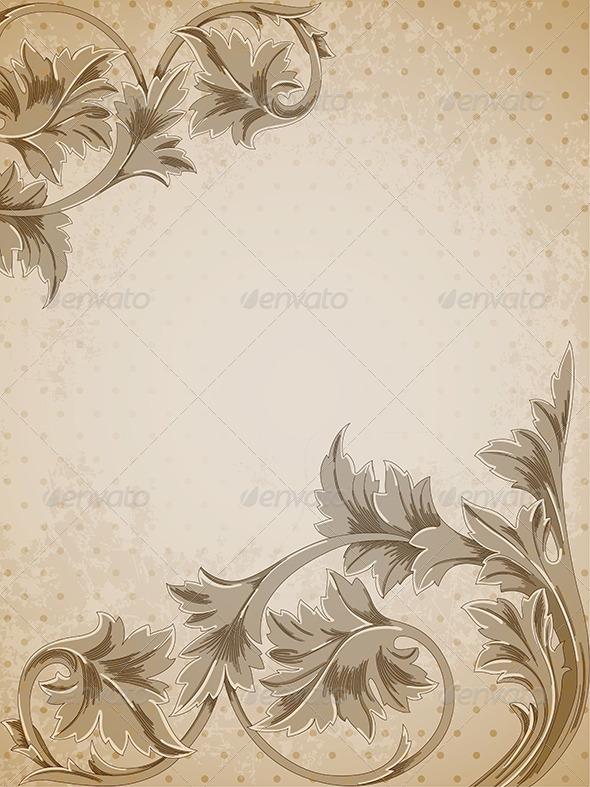GraphicRiver Vintage Background 4012319