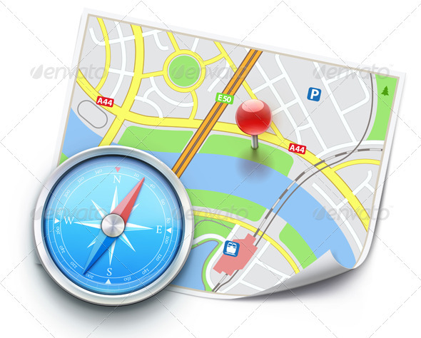 GraphicRiver global navigation concept 4012906