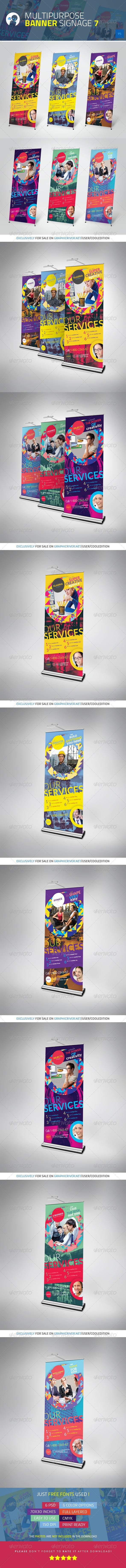GraphicRiver Multipurpose Banner Signage 7 4013102