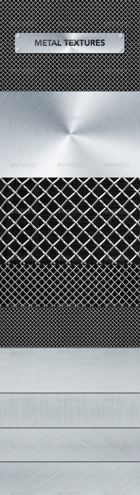 GraphicRiver Metal Textures 4013429
