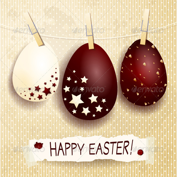 GraphicRiver Happy Easter 4013644