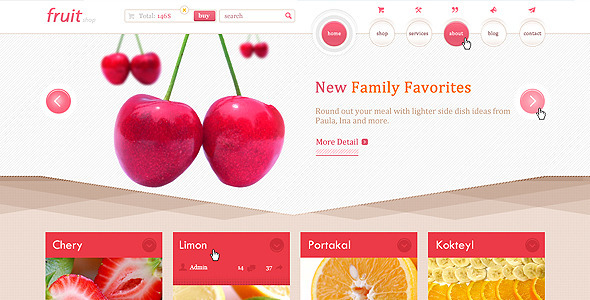 ThemeForest Fruit Shop 3994397