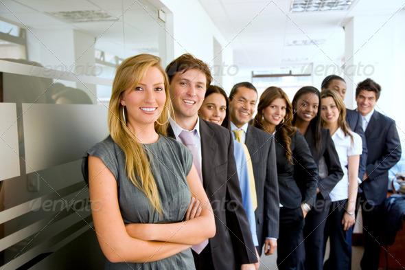 PhotoDune group of business people 433996