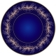 Dark blue plate - GraphicRiver Item for Sale