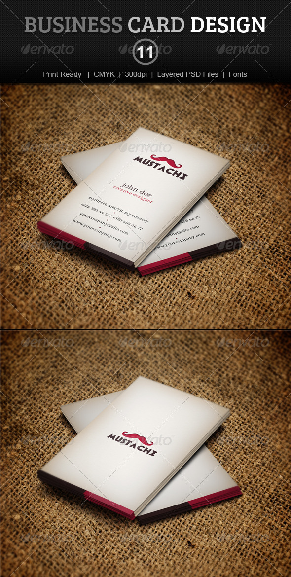 GraphicRiver Business Card Design 11 4014174