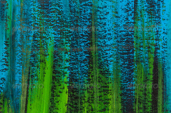 blue, green, black abstract - Stock Photo - Images