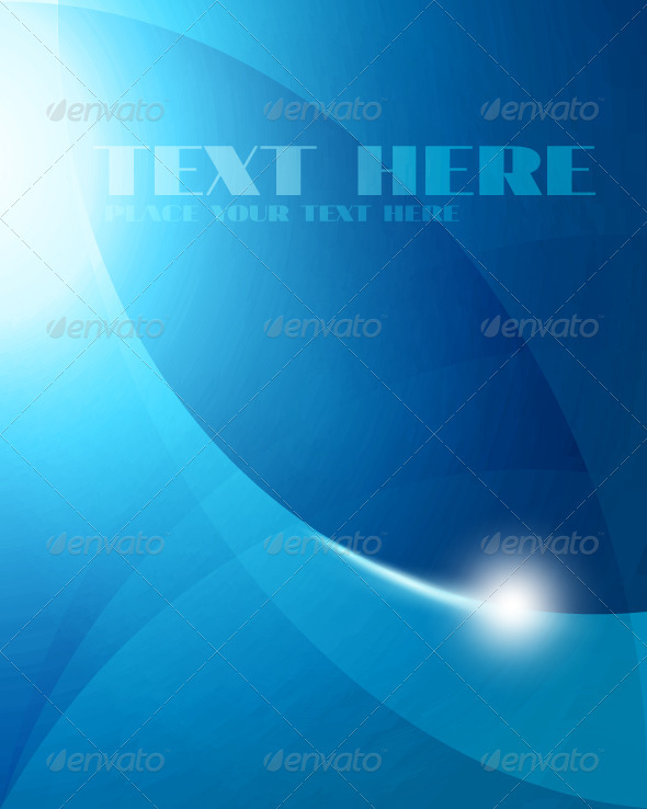 GraphicRiver Abstract Blue Background 3862525