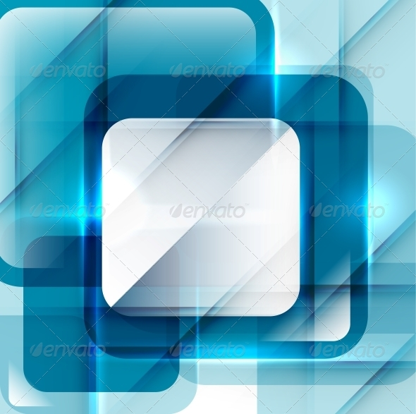 GraphicRiver Blue Modern Geometric Abstract Background 4014832