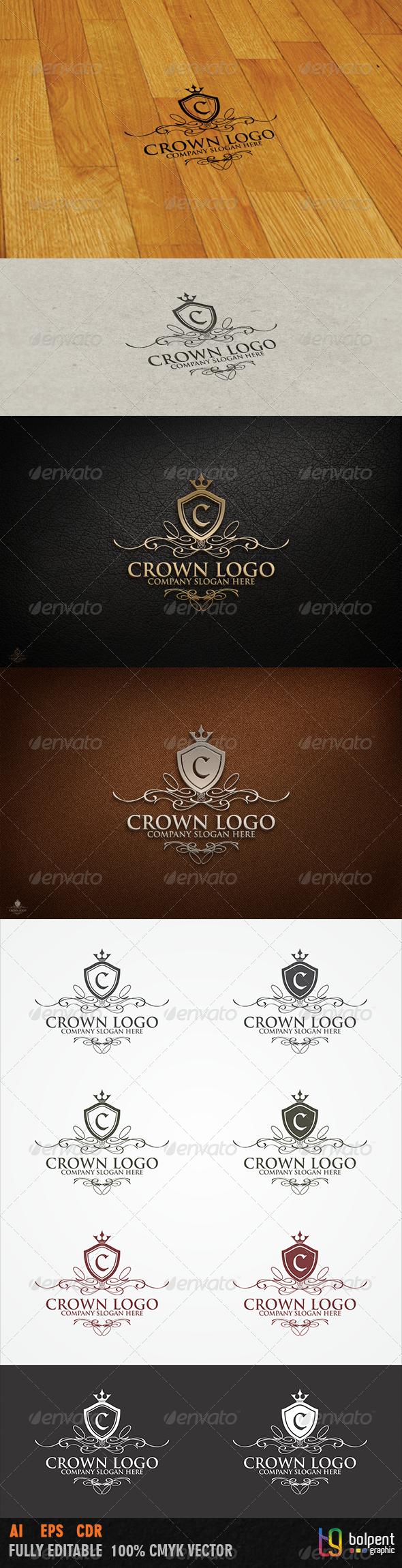 GraphicRiver Crown Logo Template 3738598