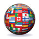 Globe from World Flags. Vector Graphics - GraphicRiver Item for Sale