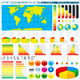 Infographics Design Elements. Vector Graphics - GraphicRiver Item for Sale