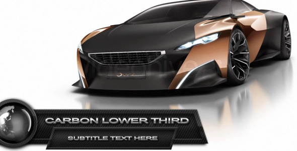Carbon Lower Third