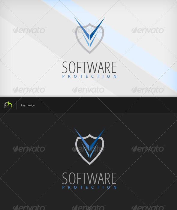 GraphicRiver Software Protection Logo 3782298