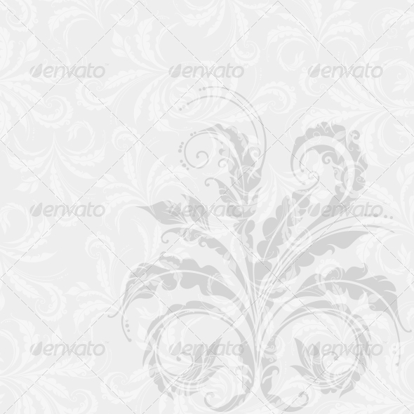 GraphicRiver Decorative Floral Background 4016155