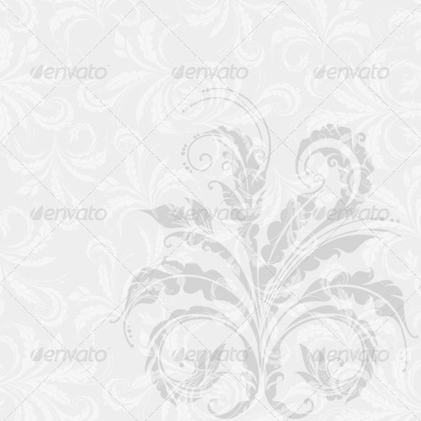 GraphicRiver Decorative Floral Background 4016155