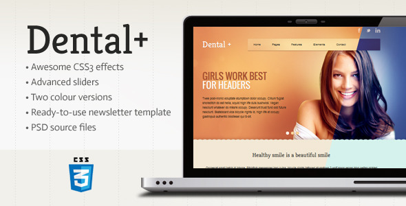 ThemeForest Dental& HTML Template 4017446