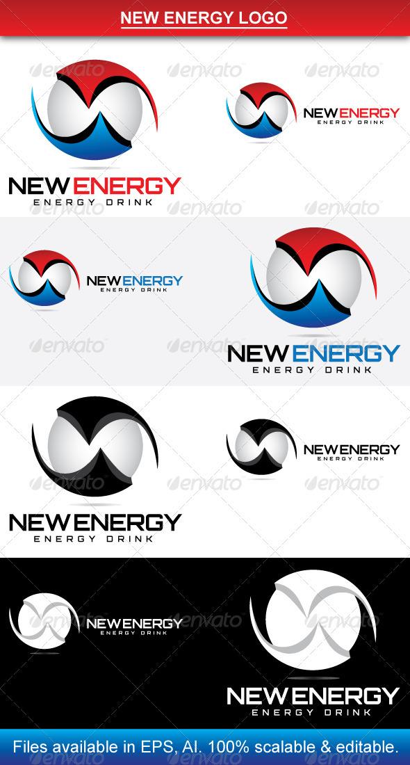 GraphicRiver New Energy Logo 3774052
