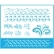 Set of Wave Symbols for Design - GraphicRiver Item for Sale