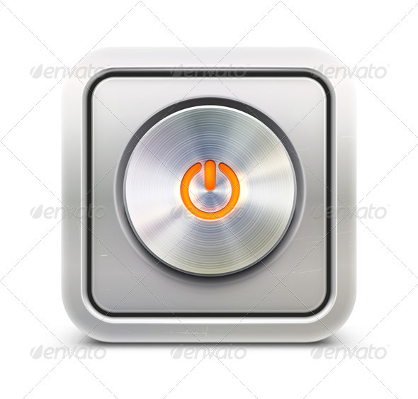GraphicRiver Power Button 4019914