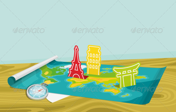 GraphicRiver Travel Planning 4020958