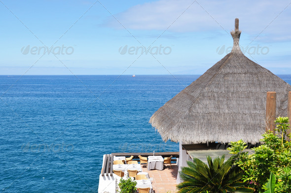 PhotoDune Ocean side restaurant Tenerife Canaries 4021130