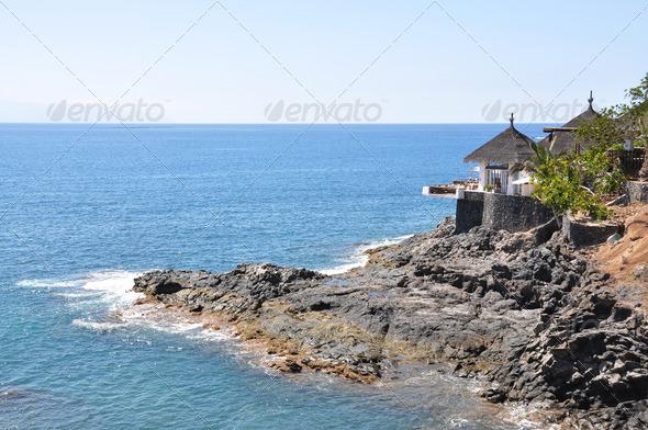 PhotoDune Ocean side restaurant Tenerife Canaries 4021143