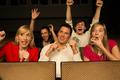 Concert Audience cheering
