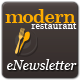 Modern Restaurant eNewsletter Template  - GraphicRiver Item for Sale