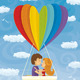 Young Couple Love Traveling Together - GraphicRiver Item for Sale