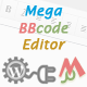 Mega BBCODE Editor Comment - WP plugins - CodeCanyon Item for Sale