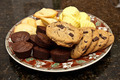 cookies and brownies on plate - PhotoDune Item for Sale