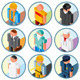 People Occupations Icons. Vector Clipart - GraphicRiver Item for Sale