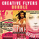 Cool & Creative Party Flyers Bundle