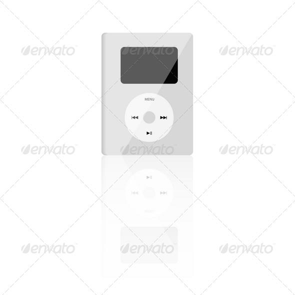 GraphicRiver MP3 Player 4023645